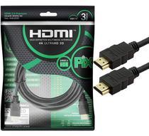 Cabo HDMI PIX 2.0 4K HDR 19 Pinos 3MT -