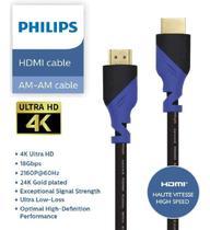 Cabo Hdmi Premium 2.0 4k 3d Hdr 1,5 Metros Original Philips -