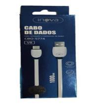 Cabo inova 2.4a iphone-usb cbo-5744 1 metro -