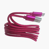 Cabo micro USB 90cm rosa - Duracell -