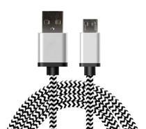 Cabo Micro USB Nylon Trançado 1m - Dd Group