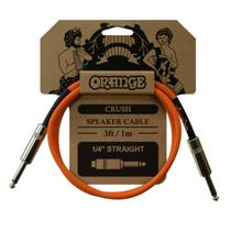 CABO ORANGE CA040 CRUSH SPEAKER CABLE (3ft JACK TO JACK) -