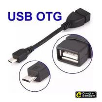 Cabo Otg Micro Usb Adaptador Pendrive P/ Celular E Tablet V8 - Lelong