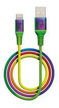 Cabo P/ iPhone - Lightning - Reforçado Colorido ELG -