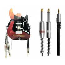 CABO P2 ST X 2 P10 Mono 2mt Performance Sound - Pix