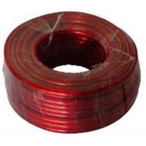 Cabo para autos 10mm vermelho rolo 50 metros - Contact