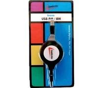 Cabo Retratil USB Am/bm Leadership 1384 -