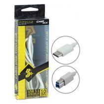 Cabo USB 3.1 Tipo C + B Macho 018-7472 5+ -