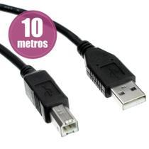 Cabo USB A/B para Impressora e scanner  com Filtro - CaboX -