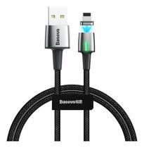 Cabo USB Baseus 2.4A Ponta Magnética para iPhone 1m CALXC-A01 -