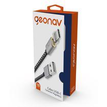 Cabo USB C Geonav UCC03MG com Ponta Magnética com 1,5 metro -