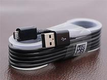 Cabo USB Micro USB Samsung Galaxy S6, S6 Edge, S7, S7 Edge Cor: Preto -