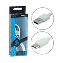 Cabo USB Tipo C + A para Smartphones, HDs, Tablets, Macbook e Chromebook - USB 3.1 Super Speed 5Gb - Chip sce