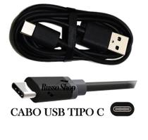 Cabo Usb Tipo C Turbo Power Original Motorola Moto G6 Plus G7 One X4 Z2 Z3 Play Preto Usb-C C056 -