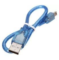 Cabo USB Tipo Mini B compatível com Arduino Nano - Casa Da Robótica