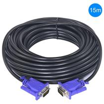 Cabo Vga 15m Monitor Tv Projetor 15 Metros Blindado - Lotus