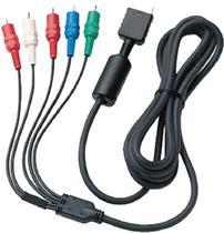 Cabo Video Componente Alta Definição Tv Hdtv Para Psone Play2 Ps3 PSX 2/3 - Outros