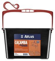 Caçamba Pintura 10Lt 610P Preta Atlas -