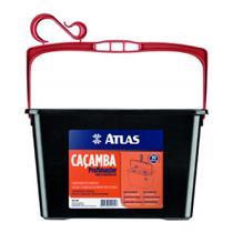 Caçamba Plástica 20cmx23cmx33cm Ref.610p 11l Atlas -