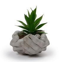 Cachepot Vaso Decorativo de Cimento para Planta Suculenta - La Home Presentes