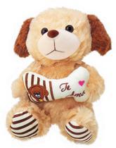 Cachorrinho De Pelúcia Te Amo Ursinho - Várias Cores - Bee Toys