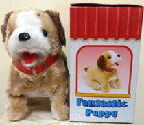 Cachorrinho Pelúcia Puppy - Anda Late E Da Cambalhotas - Fantastic Puppy