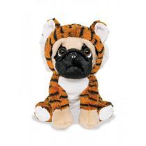 Cachorro De Pelúcia Pug Tigrinho - 6151  Buba -