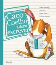 Caco Coelho Adora Escrever - Caramelo -