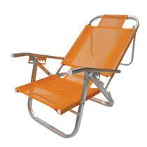 Cad  praia copacabana reclinavel - laranja - Botafogo