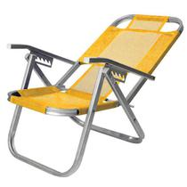 Cad  praia ipanema reclinavel - amarela - Botafogo