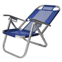 Cad  praia ipanema reclinavel  - azul royal - Botafogo