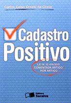 Cadastro Positivo - Saraiva