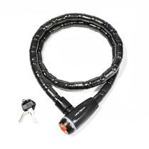 Cadeado Articulado 18x1200MM Fumê para Bicicleta  MXTRA0006  Maxtrava -