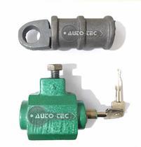 Cadeado de chão para porta de aço / enrolar ml king tetra na cor verde -