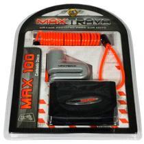 Cadeado Disco Cabo Lembrt/Bolsa Pino C/5,5mm-Maxtrava MAX100 -