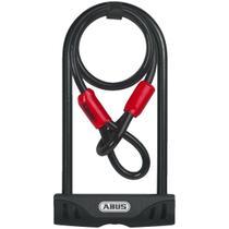 Cadeado para Bike Abus 32/150 Chave + Ush Facilo 32 + Cobra -