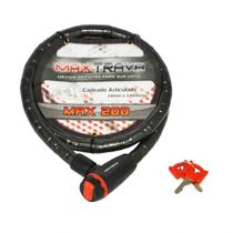 Cadeado Trava Corrente Articulado 18X1200mm Max200 MaxTrava - Max Trava