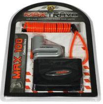 Cadeado Trava Corrente Disco Aço 5,5mm MaxDisc MaxTrava - Max Trava