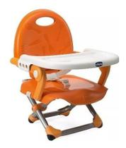 Cadeira Assento Elevatório Pocket Snack Mandarino Chicco 0793407 -