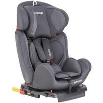 Cadeira Auto Isofix Lenox Whoop Apollo Grafite 0 a 36kg - 8102AGR - KIDDO