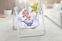 Cadeira Automatica 5 Posições Cinza Plush Toys - Mastela