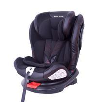 Cadeira Bebê Auto 0 a 36kg Isofix rotação 360º Baby Style -
