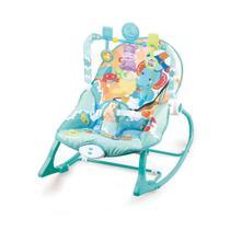 Cadeira Bebê descanso Balanço Musical Vibratória Azul Oceano - Baby Style