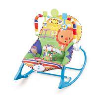 Cadeira Bebê descanso Balanço Musical Vibratória Color Leão - Baby Style