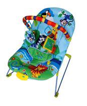 Cadeira Bebê Descanso Vibratória Musical Ballagio - Azul - Color Baby -