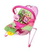 Cadeira Bebê Descanso Vibratória Musical Ballagio - Rosa - Color Baby -