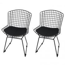 Cadeira Bertoia Pintada 2 unidades - Elare -
