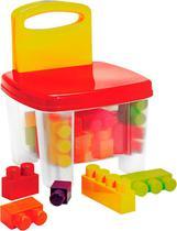 Cadeira Bricks e Klicks Brinquedo Infantil - Gulliver - 5022 -