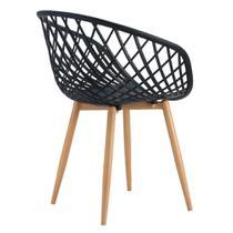 Cadeira Byartdesign Brera Preto -