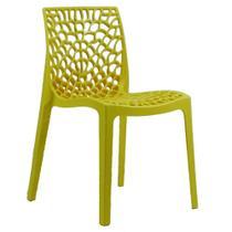 Cadeira Byartdesign Gruvyer Amarelo -
